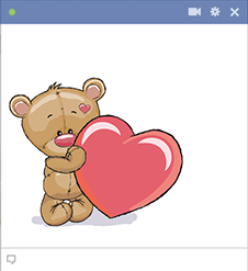 Love teddy emoji