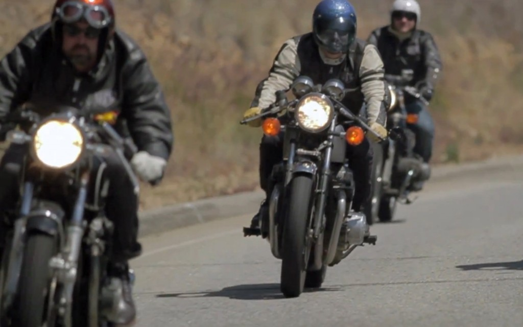 the bullitt: the downshift :: cafe racers 'vintage style' video