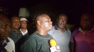 Police/DSS Operatives manhandle Governor Wike in failed attempt to abduct a Federal High Court Judge