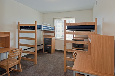 college bunkbed,
