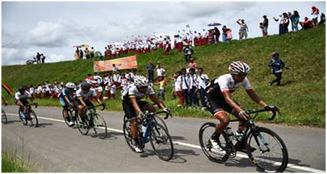 Lagi Lagi Robert Muller juariai kembali Etape 3 Tour de Singkarak 2017
