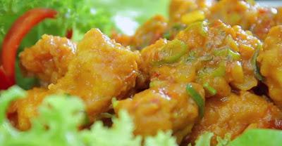 Resep Ayam Telur Asin Sederhana dan Irit