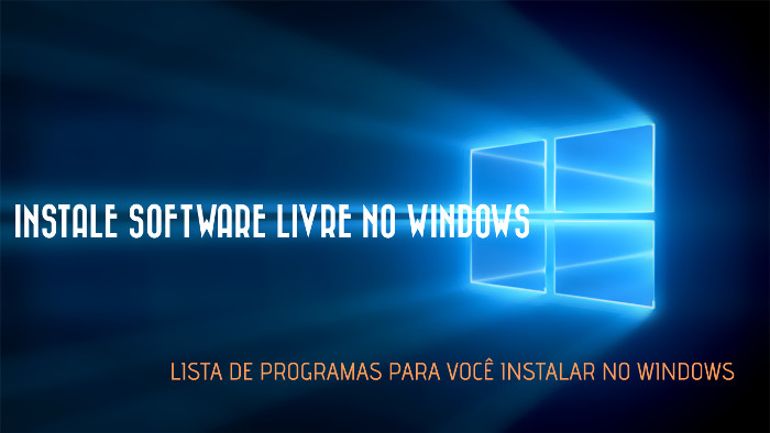 instalar programas free no windows de graca