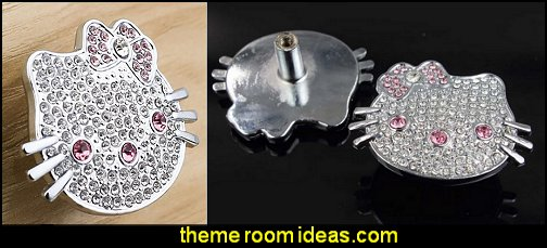 hello kitty drawer knobs