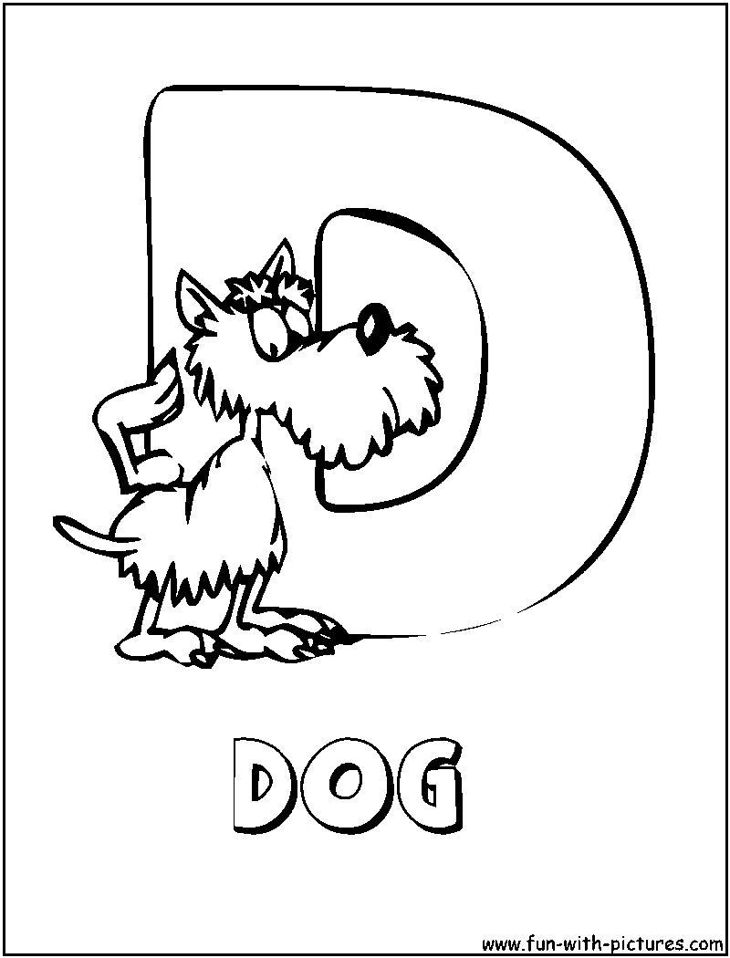 Coloring Pages for Kids: Animal Alphabet Coloring Pages ...