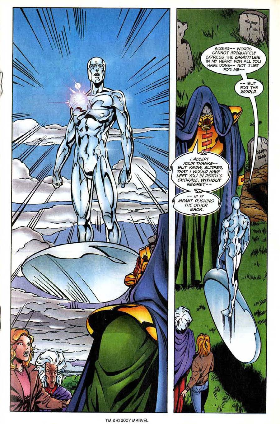 Read online Silver Surfer (1987) comic -  Issue #137 - 21