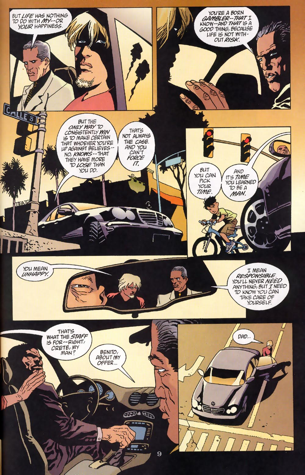 Read online 100 Bullets comic -  Issue #39 - 11