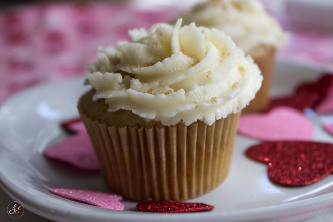 Gluten Free, Dairy Free French Toast Cupcakes with Maple Buttercream