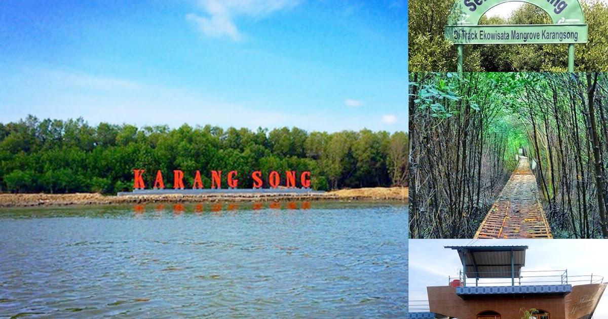 Ekowisata Hutan Mangrove di Pantai Karangsong, Indramayu - wisatajabar.com