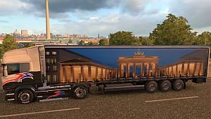 Brandenburg Gate trailer mod