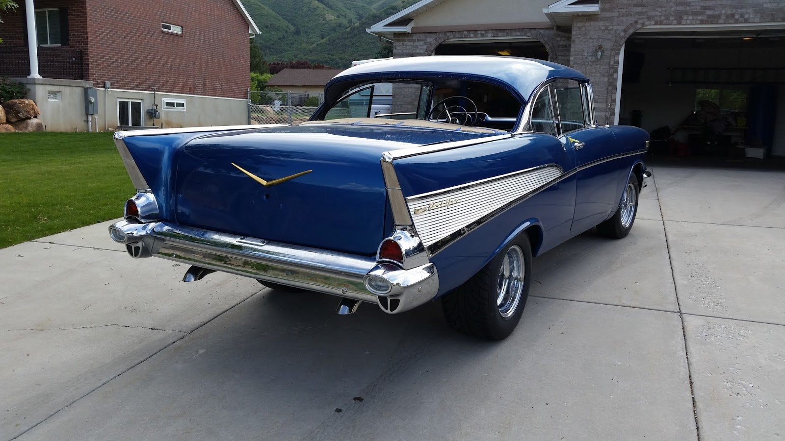 1957 Chevy Belair Restoration Bel Air Front Suspension I Have Been Thinking A Lot About How To Do The Upholstery Work For Car Over Past 2 Plus Years And Now It Is Time See If Can