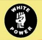 Kent Security manager white power logo.