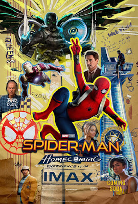 nuevo póster IMAX de 'Spider-Man: Homecoming'