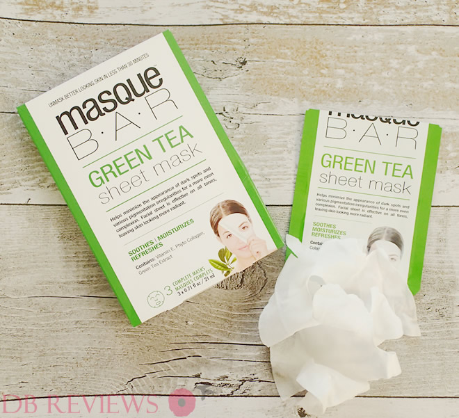 Green Tea mask from Masque Bar