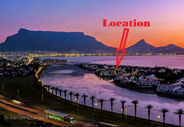 Copyright Infringement Warning to Cape Town Photographers: Bright Beachside on Woodbridge Island Using a Vernon Chalmers Image Without Permission