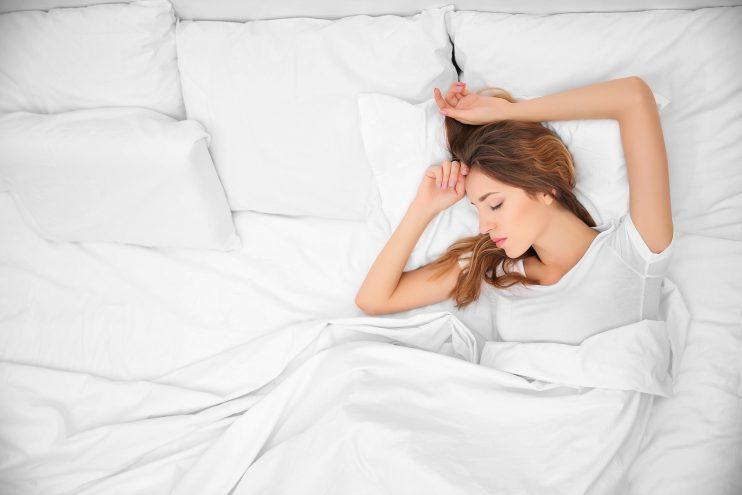 Sleep on Satin of Silk Pillowcase