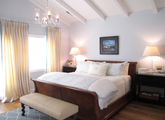 Casual Home remodelaholic   classic casual home master bedroom reveal