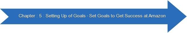 Next: Setting Up of Goals - Set Goals to Get Success at Amazon