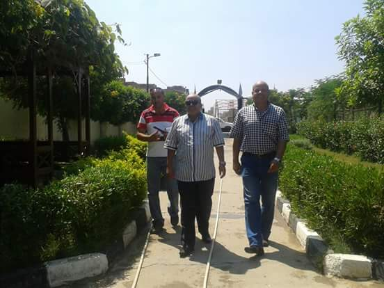 رئيس مركز ومدينة السنطة يتفقد أماكن المتنزهات ومجزر بالسنطة بمناسبة عيد الأضحى المبارك.