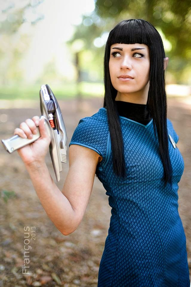 Anti Ai Chan Cosplay - Sexy Star Trek