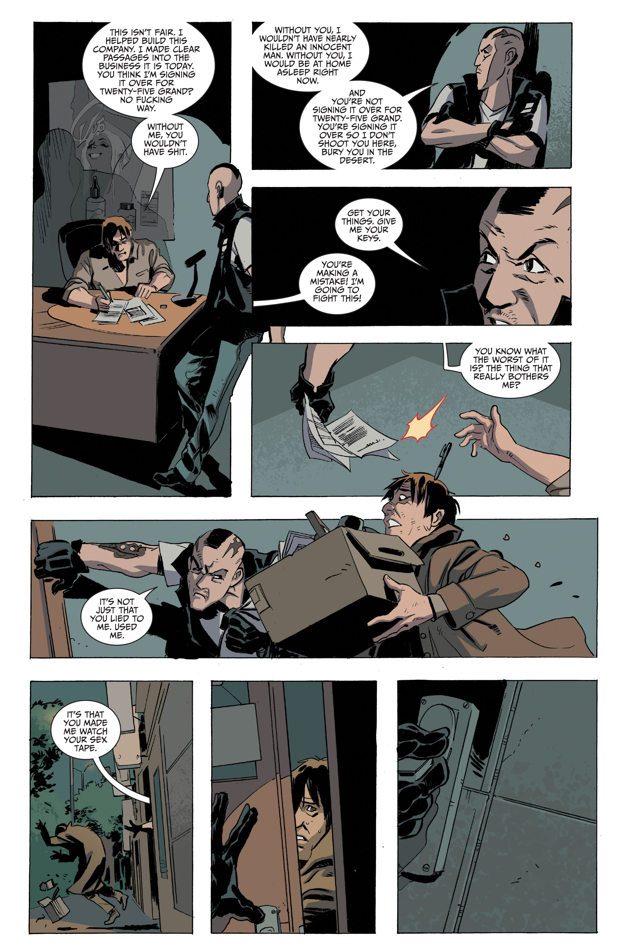 Read online Sons of Anarchy comic -  Issue #16 - 20