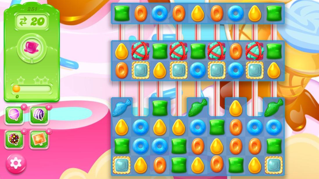 Candy Crush Jelly Saga 251