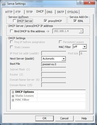 Create a PXE boot server with Serva - NETWORKSTIP Networking CCNA