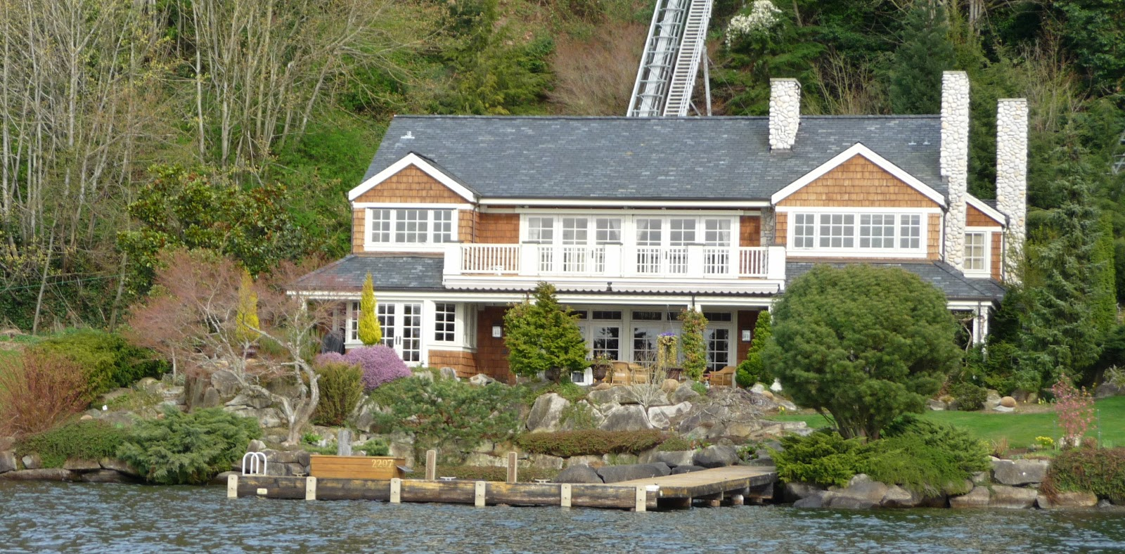 Seattle Mansions: Medina West Coast Home For Sale - $8 8 Million