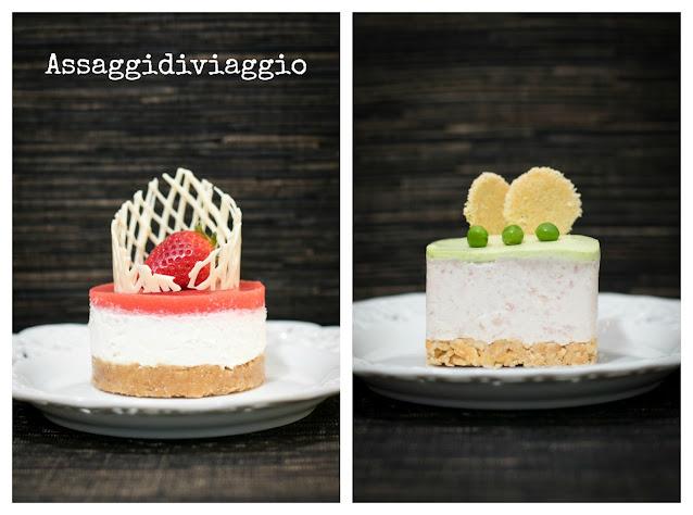 Cheesecake dolce e cheesecake salata