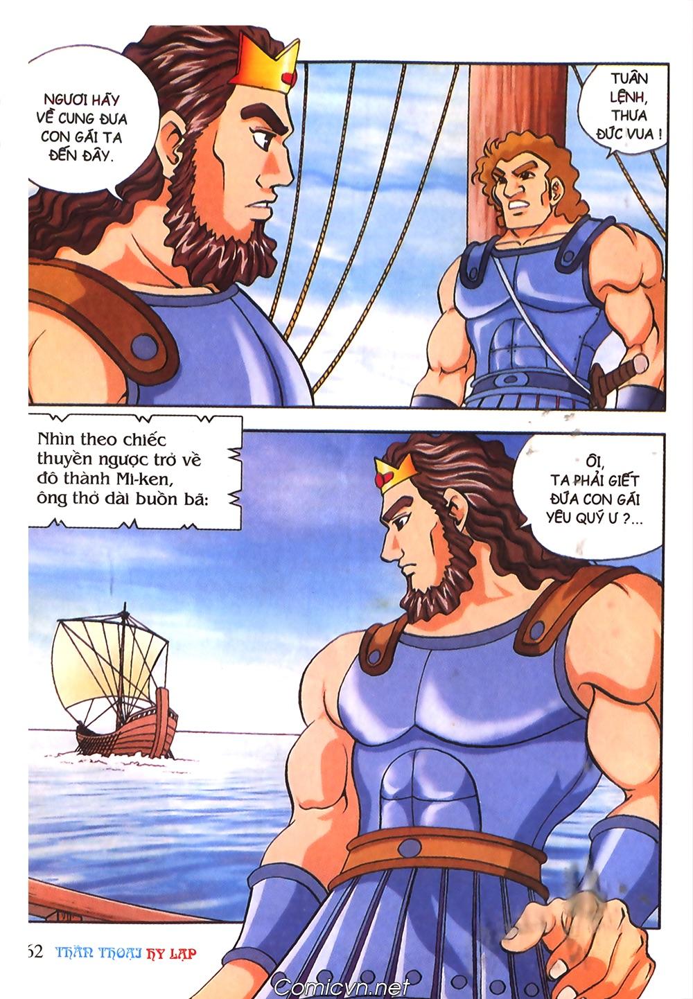 Thần Thoại Hy Lạp Màu - Chapter 53: Trước giờ xung trận - Pic 26