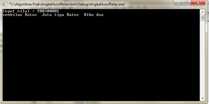 Program Mengubah Inputan Angka Jadi Huruf C++ Code Block