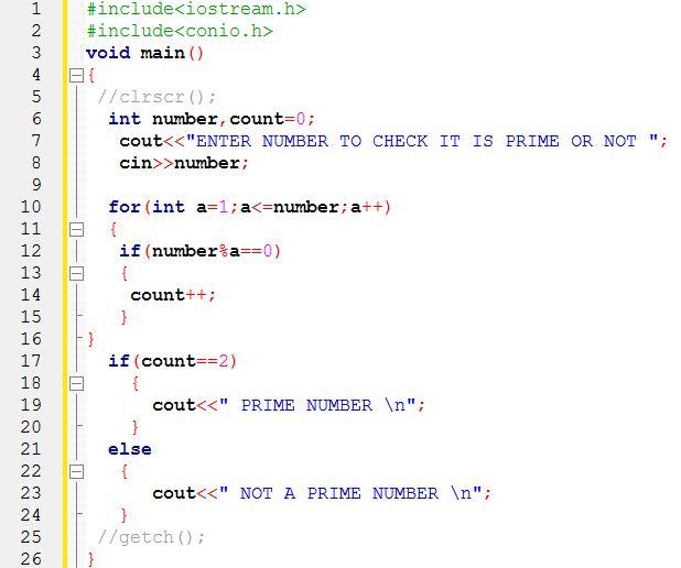 write a c program to find factorial of a number using for loop