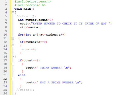 Find Prime Number in C++ Programming
