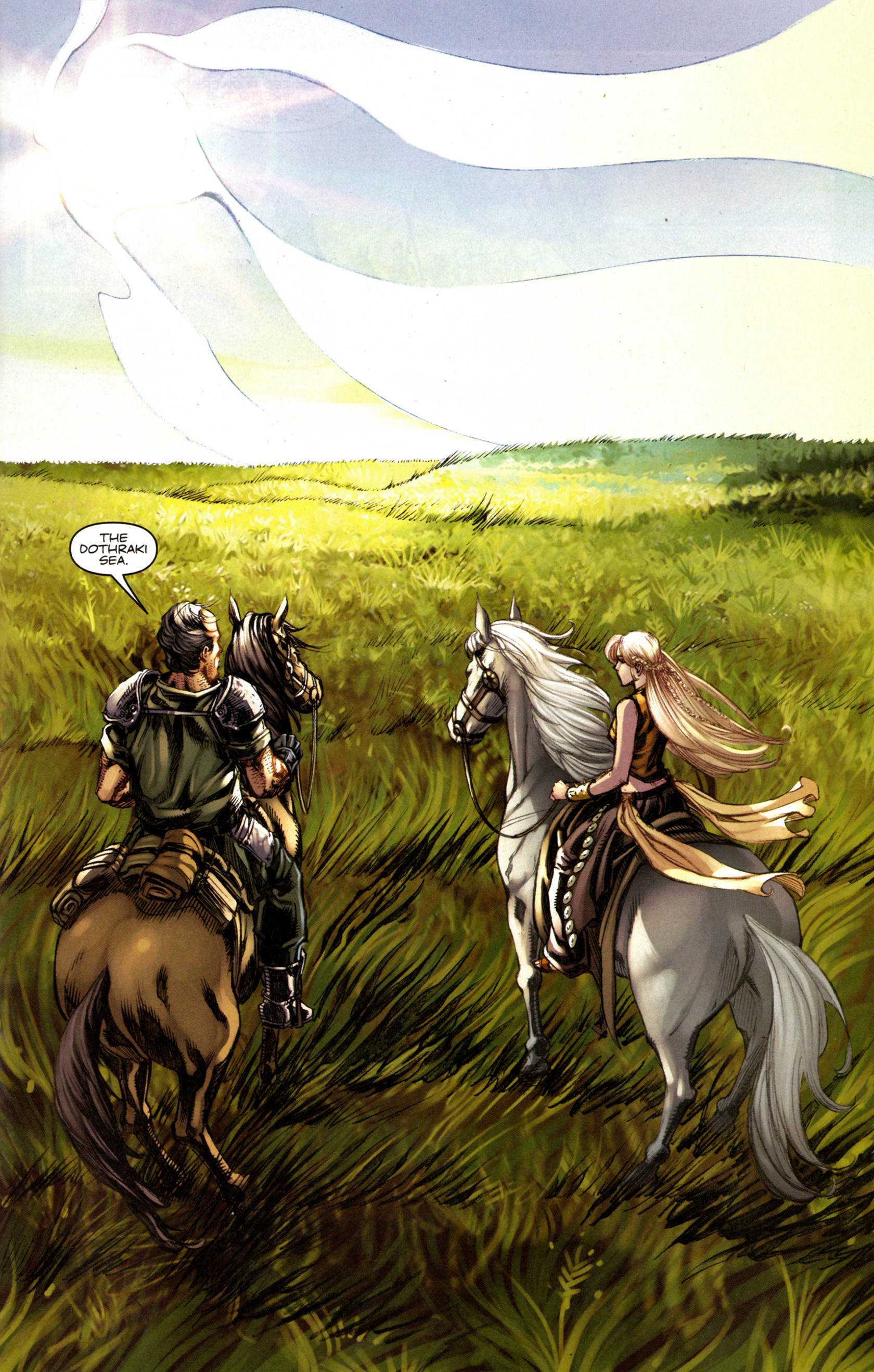 Read online A Game Of Thrones comic -  Issue #6 - 21