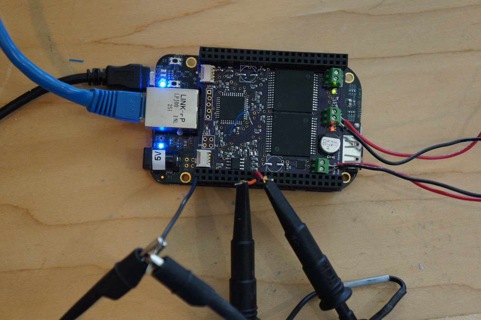 Robots and Electrons: Bringing up a new cape for the Beaglebone