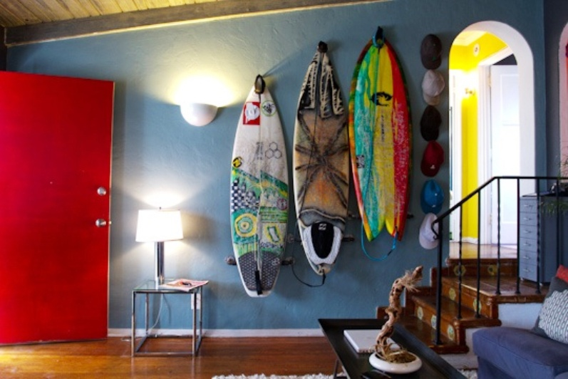 Ciao! Newport Beach: Surf Board Decor