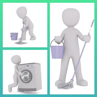 TICs en FLE Les tâches ménagères ( A-1 / A-2 ) - les taches menageres