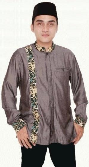 Desain baju muslim pria moderen