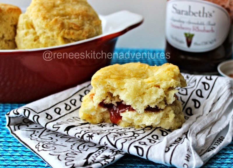Easy Peasy Buttermilk Biscuits by Renee's Kitchen Adventures