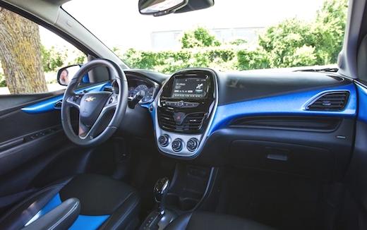 2019 Chevrolet Spark Specs