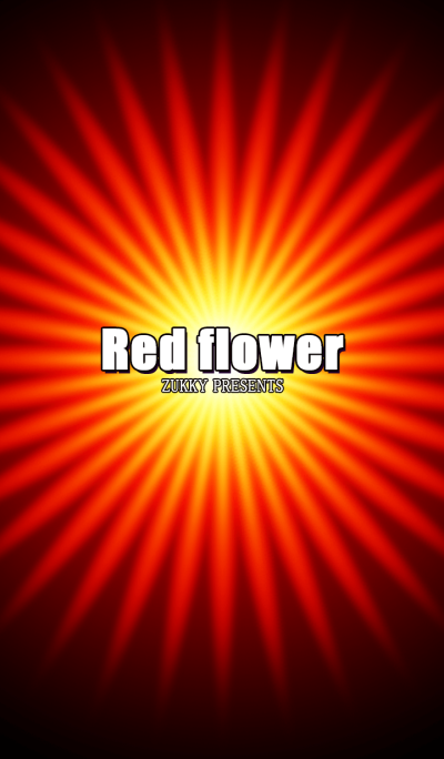 Red flower Effect