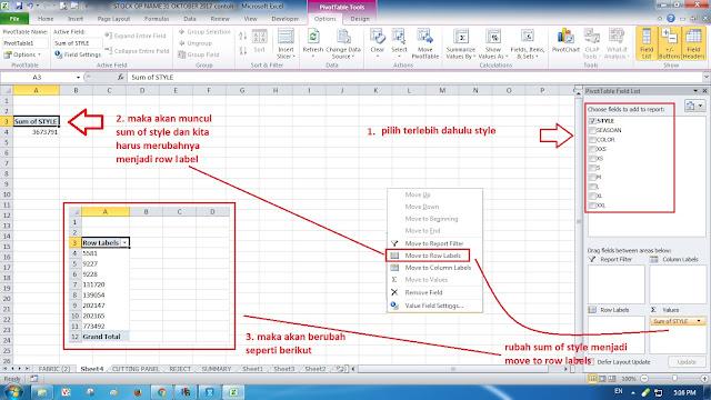 Cara Menggunakan Pivot Tabel di Excel