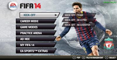 Game FIFA 14 PSP Versi Terbaru