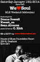 Sat Jan.18: WLS MLK Weekend Celebration!