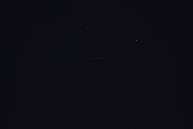 Iridium Flare in Corona Borealis