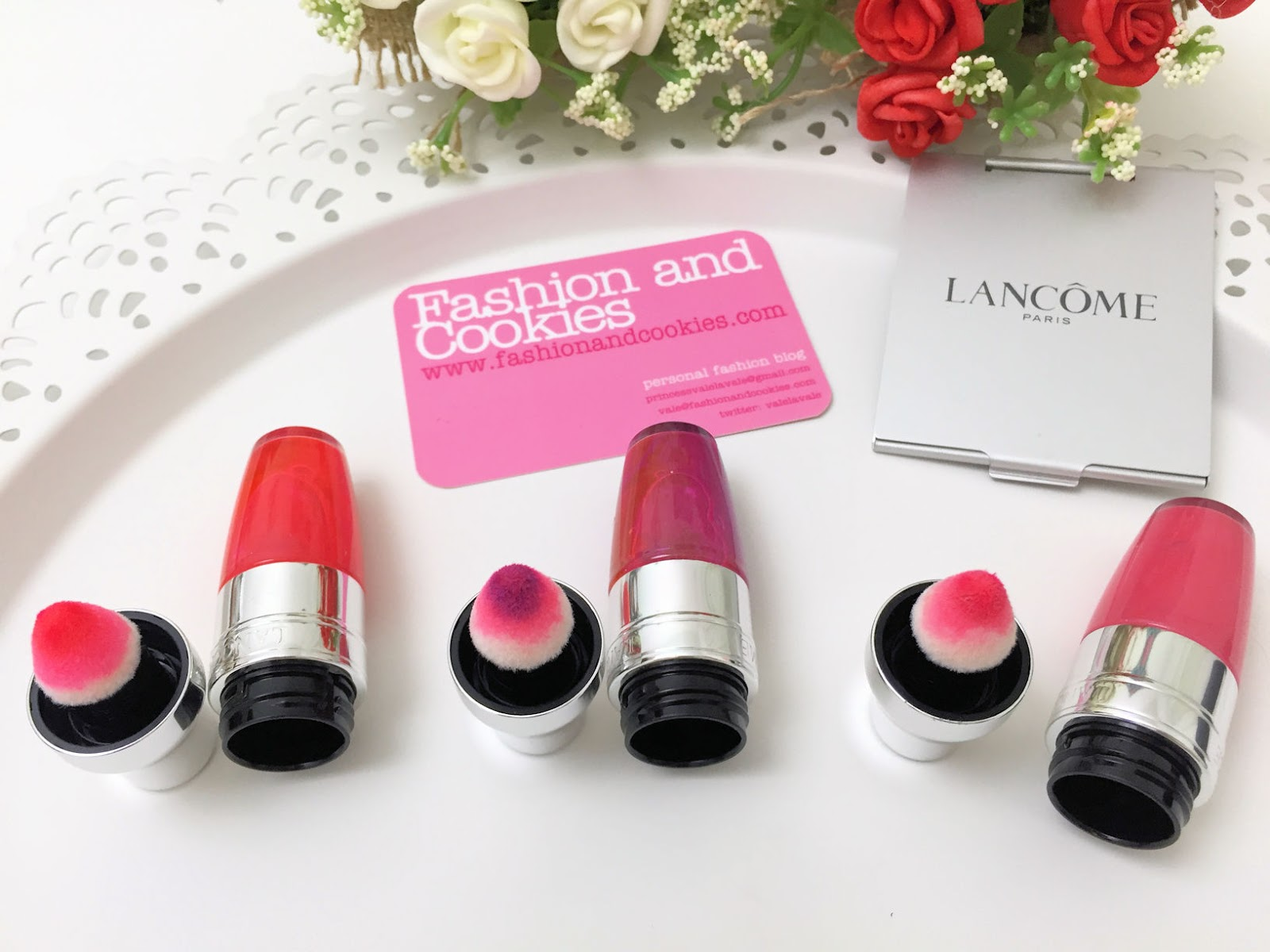 Lancome Juicy Shakers lip oils review on Fashion and Cookies beauty blog, beauty blogger