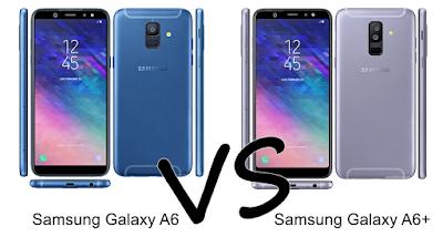Samsung Galaxy A6 dan Galaxy A6 Plus, Spesifikasi, Harga dan Perbandingan