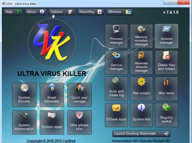 تحميل برنامج حذف الفيروسات للكمبيوتر UVK Ultra Virus Killer