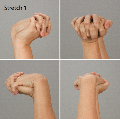 Bài tập thể dục giữ sức khỏe cho thợ nail