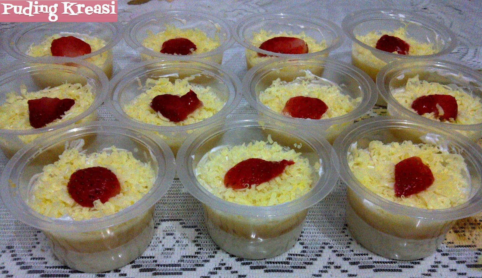 Puding Cup Cheese Cake